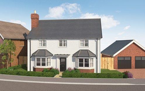 Thumbnail Detached house for sale in Longhurst Drive, Off Marringdean Road, Billinghurst, West Sussex
