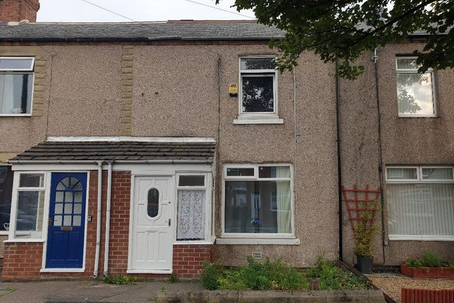 2 bed terraced house to rent in West Terrace, Stakeford NE62
