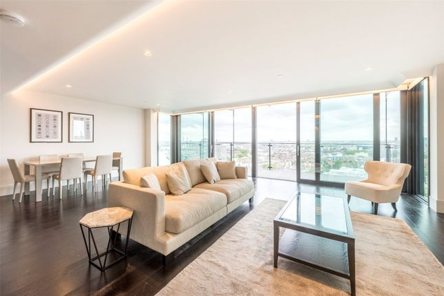 Thumbnail Flat to rent in Merano Residences, 30 Albert Embankment, Albert Embankment, London