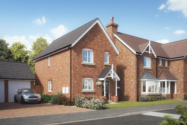 Thumbnail Semi-detached house for sale in Kings Vale Off Shrewsbury Road, Baschurch, Shrewsbury