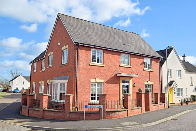 Thumbnail Detached house for sale in Lupin Way, Willand