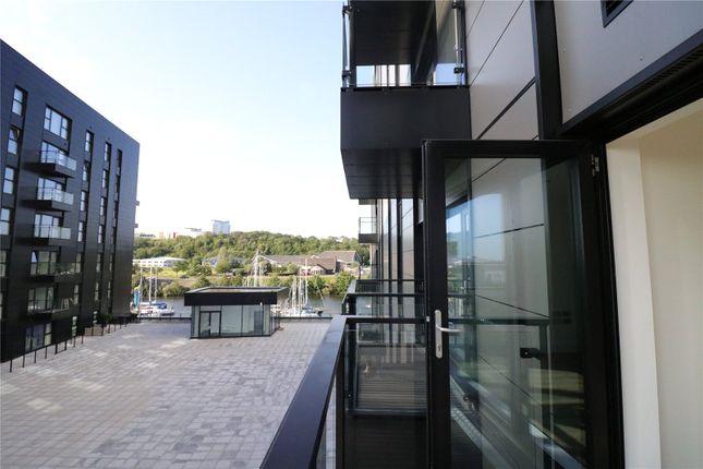 Thumbnail Flat for sale in Bayscape, Cardiff Marina, Watkiss Way, Cardiff