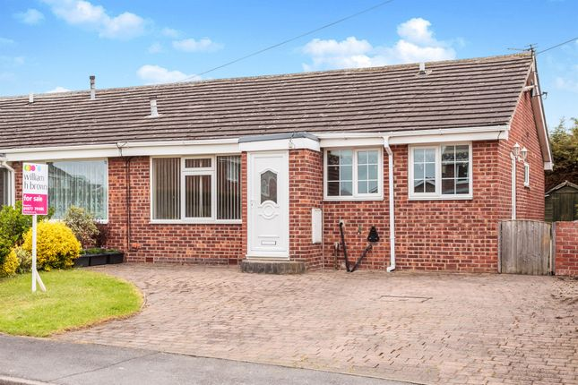 Thumbnail Semi-detached bungalow for sale in Plum Tree Close, Pontefract