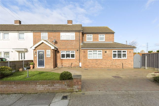 Thumbnail Semi-detached house for sale in Macon Way, Upminster