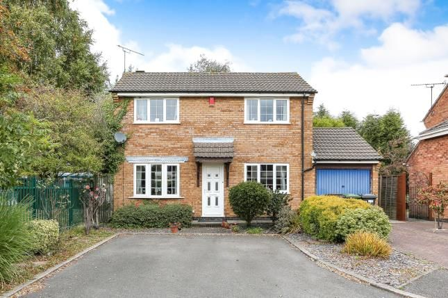 Thumbnail Detached house for sale in The Priors, Bedworth, Warwickshire