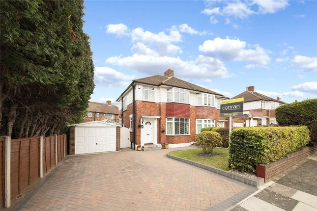Thumbnail Semi-detached house for sale in West Hallowes, Eltham