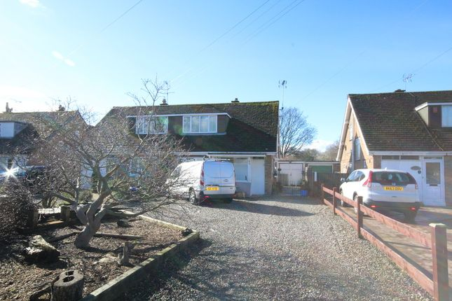 Thumbnail Semi-detached bungalow for sale in Darland Lane, Rossett, Wrexham