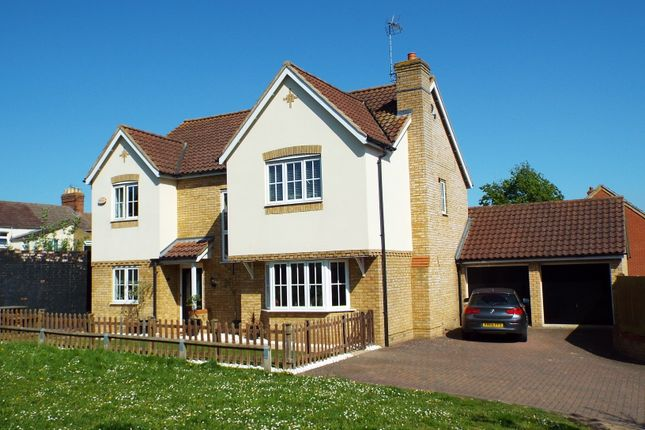 Thumbnail Detached house for sale in Briarwood Way, Wollaston, Northamptonshire