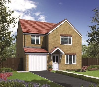"Thumbnail Detached house for sale in ""The Roseberry"" at Coquet Enterprise Park, Amble, Morpeth"