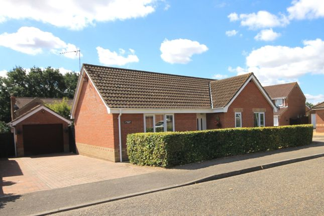 Detached bungalow for sale in Foxglove Close, Fakenham