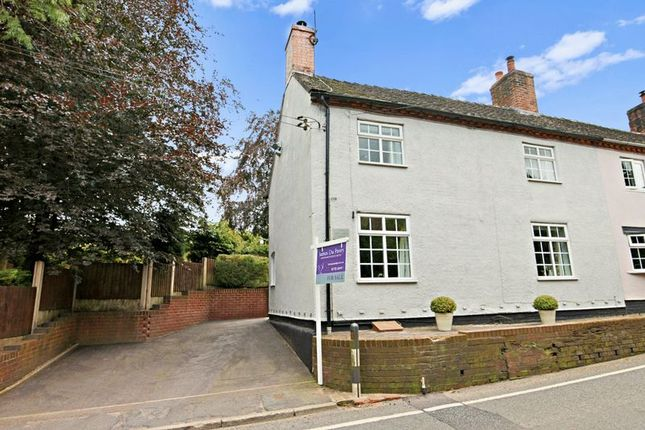 Thumbnail Semi-detached house for sale in Sandon Road, Hilderstone