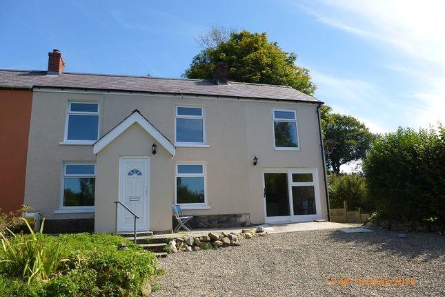 Thumbnail Semi-detached house for sale in Heol Yr Ysgol Cefneithin, Llanelli, Carmarthenshire.