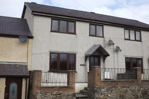 Thumbnail Terraced house to rent in Capel Y Graig, Bangor