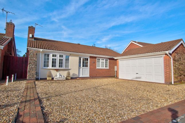 Thumbnail Bungalow for sale in Seymour Way, Leicester Forest East, 3