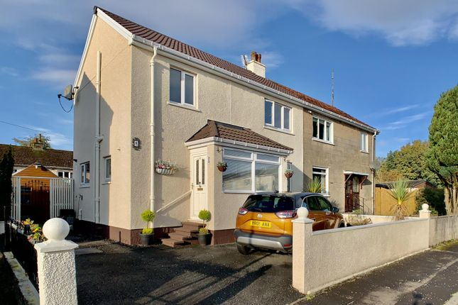 Thumbnail Semi-detached house for sale in Pundeavon Avenue, Kilbirnie