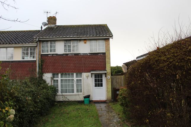Thumbnail End terrace house to rent in Laleham Close, St Leonards-On-Sea