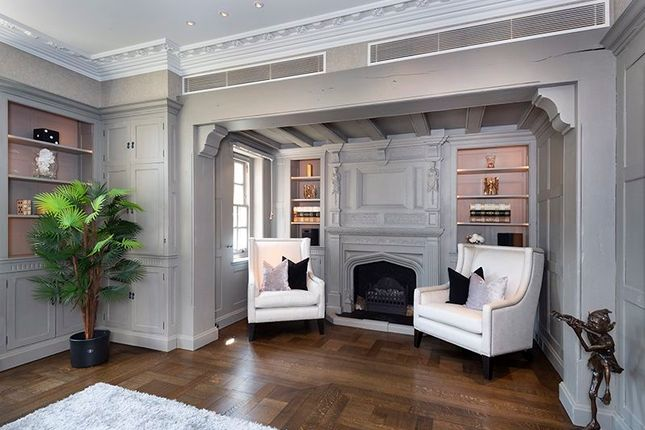 Study Fireplace of Courtenay Avenue, London N6