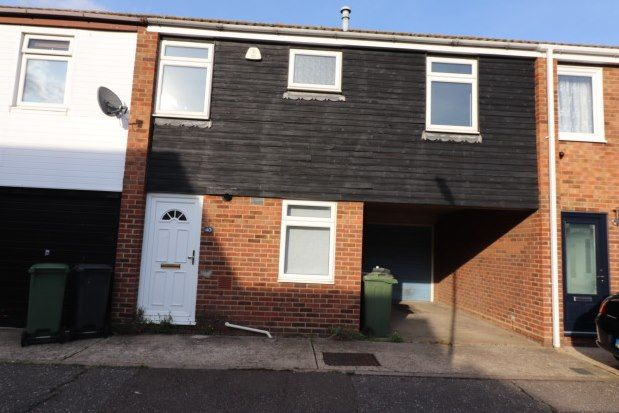 Thumbnail Terraced house to rent in Town End Field, Witham