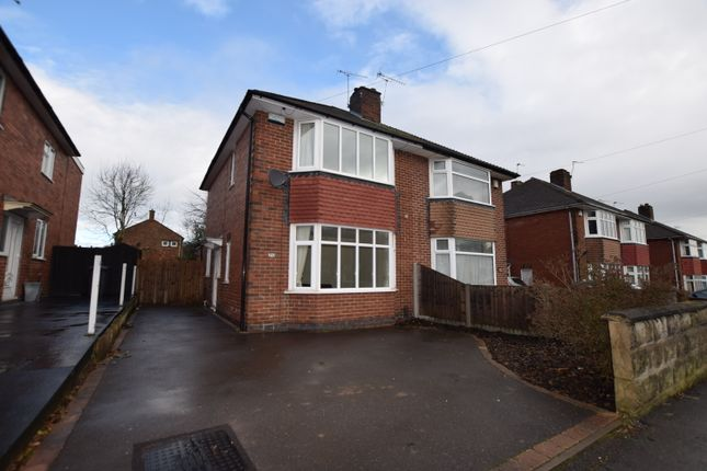 Thumbnail Semi-detached house to rent in Carlisle Avenue, Littleover, Derby