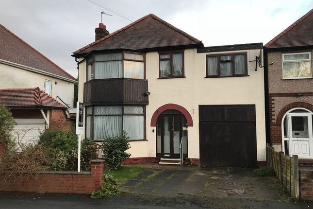 Thumbnail Detached house for sale in Ribbesford Avenue, Oxley, Wolverhampton