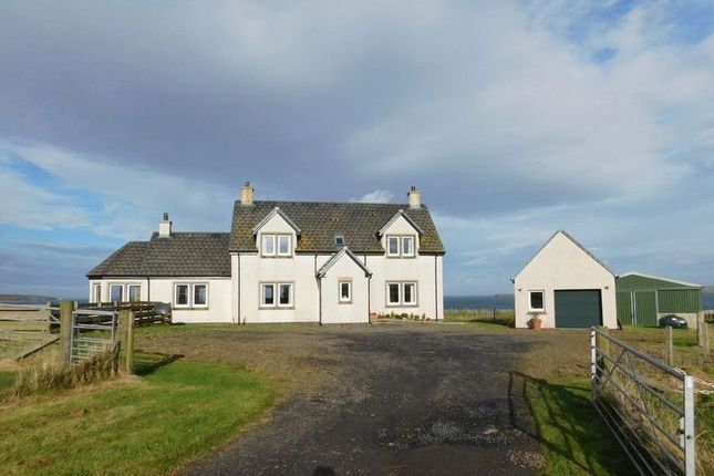 Thumbnail Detached house for sale in Brambridge, Kirkstyle, Canisbay, Wick, Caithness