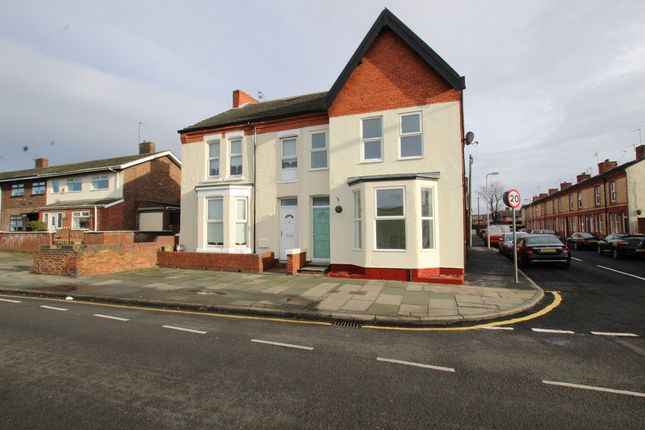 Thumbnail Semi-detached house for sale in Crosby Road South, Liverpool