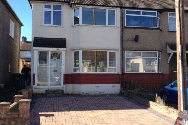 Thumbnail Semi-detached house to rent in Mayfair Road, Dartford
