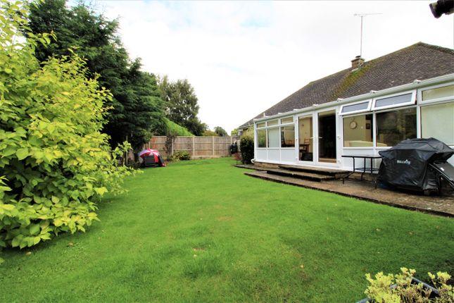 Thumbnail Detached bungalow for sale in Thames View, Ashton Keynes, Swindon