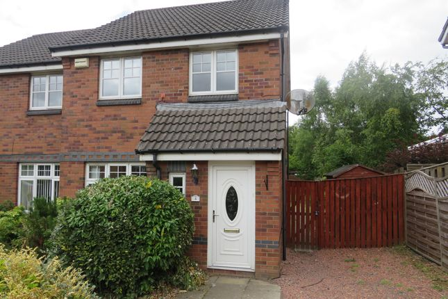 Thumbnail Semi-detached house for sale in Brookfield Drive, Robroyston, Glasgow