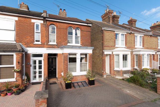 Thumbnail Semi-detached house for sale in Norman Road, Faversham