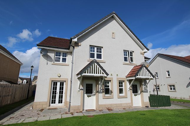 Thumbnail Terraced house for sale in Woodgrove Gardens, Inverness