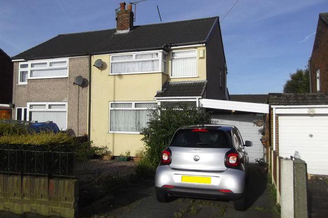 Thumbnail Semi-detached house for sale in Amanda Road, Rainhill, Prescot