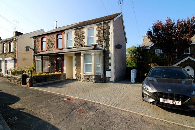 Semi-detached house for sale in Heol Y Ffynnon, Efail Isaf, Pontypridd