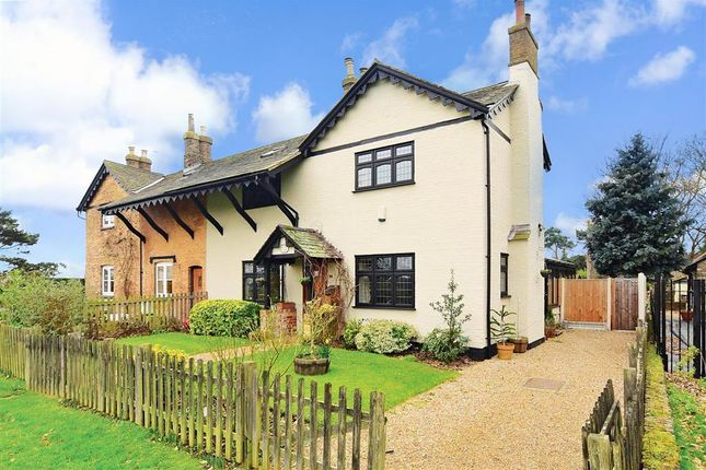 Thumbnail Semi-detached house for sale in The Green, Havering-Atte-Bower, Romford, Essex