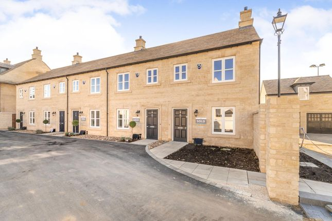 Thumbnail Terraced house to rent in Hereward Way, Kettering Road, Stamford