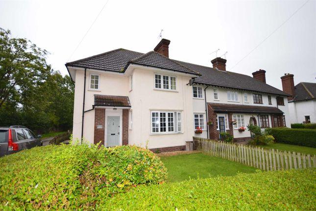 Thumbnail End terrace house to rent in Chapel House Lane, Puddington, Neston