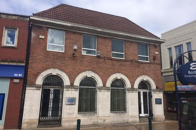 Thumbnail Office for sale in 88-90 Church Street, Eccles, Manchester, Greater Manchester