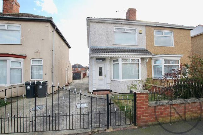 Thumbnail Semi-detached house for sale in Claremont Road, Darlington