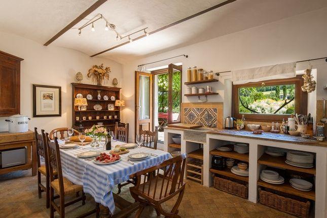Kitchen of Casa Molino, Anghiari, Tuscany