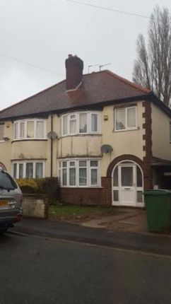 Thumbnail Semi-detached house to rent in Argyle Road, Wolverhampton