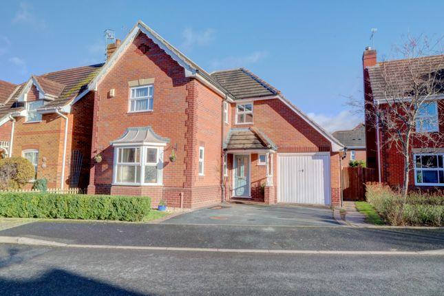 Thumbnail Detached house for sale in Wirlpiece Avenue, Lyppard Habington, Worcester