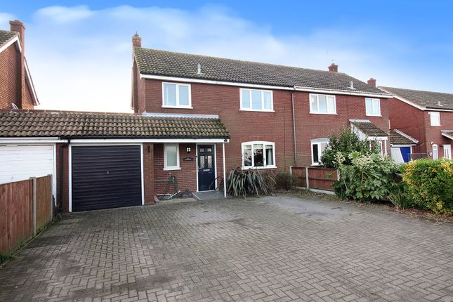 Thumbnail Semi-detached house for sale in The Common, Freethorpe, Norwich
