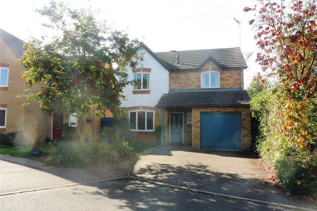 Thumbnail Detached house to rent in Foxglove Court, Newport Pagnell