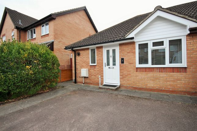Thumbnail Semi-detached bungalow for sale in Bignell Croft, Highwoods, Colchester, Essex