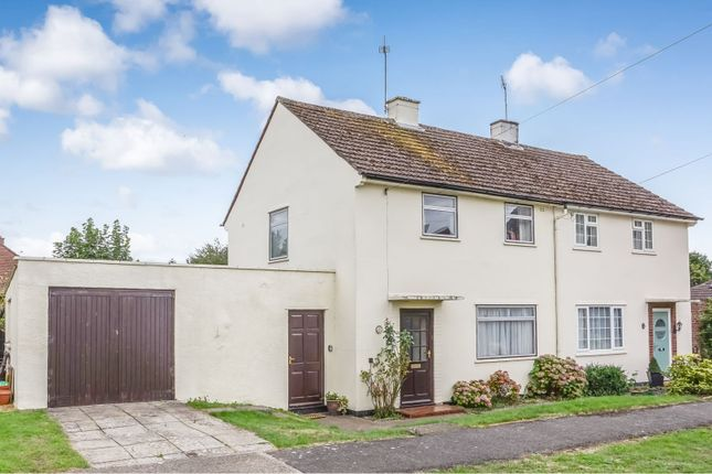 Thumbnail Semi-detached house for sale in Larkhill Road, Abingdon