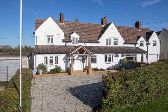 Semi-detached house for sale in Mill Road, Henham, Essex