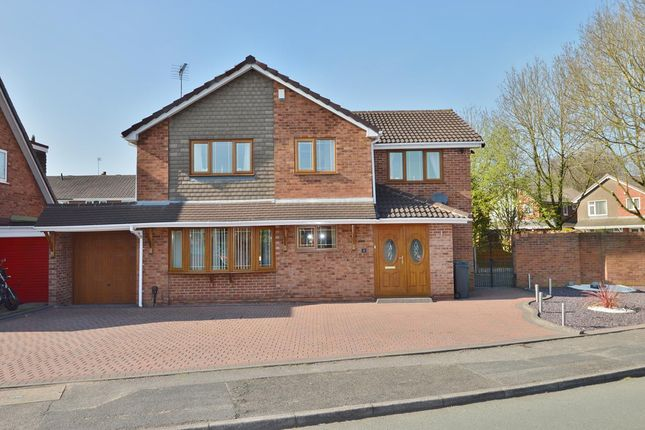 Thumbnail Detached house for sale in Withywood Close, Willenhall