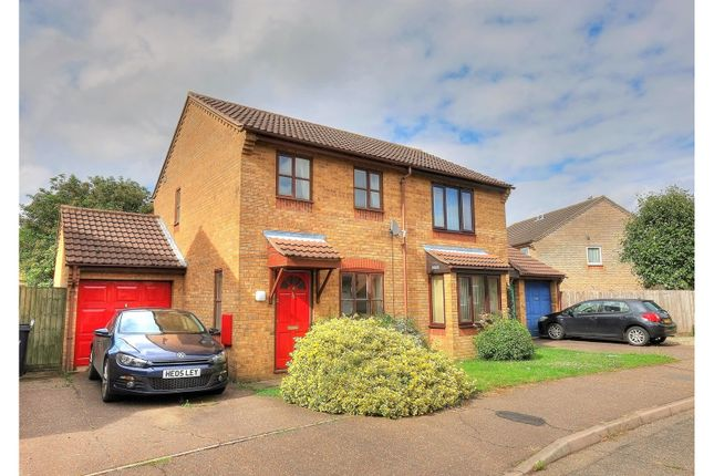 Thumbnail Semi-detached house for sale in Suffield Close, Norwich