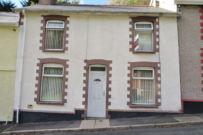Terraced house for sale in Hafodarthen Road, Llanhilleth, Abertillery