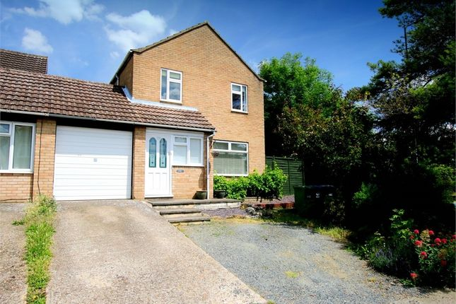 Thumbnail Link-detached house for sale in Queens Gardens, Eaton Socon, St. Neots